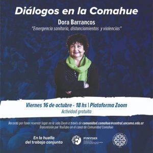 Diálogos en la Comahue con Dora Barrancos