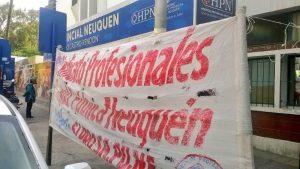 Jornada nacional de lucha de trabajadores de la salud