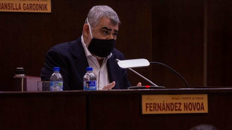 Fernández Novoa pide que vuelva a funcionar el Comité de Emergencia provincial
