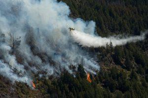 Incendios en El Bolsón: Pese a las advertencias del municipio los vecinos colaboran con los brigadistas