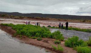 Complicaciones en Rincón de los Sauces por la última tormenta