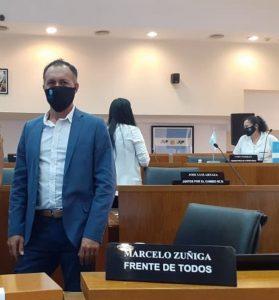 Marcelo Zuñiga se mostró favorable a eliminar la elección municipal de medio término