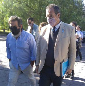Tristán Bahuer visitó la Universidad Nacional del Comahue