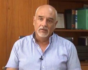 Andrés Gallardo: «Nadie ha muerto por usar el barbijo correctamente»