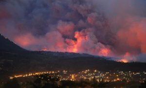 Hay 800 personas evacuadas por los incendios eninmediaciones aEl Bolsón