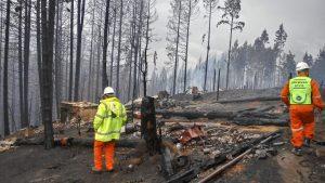 Incendios en El Bolsón: «El fuego no está apagado, está controlado y contenido»