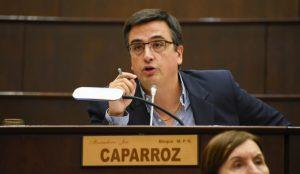 Maximiliano Caparróz reconoció que el aumento otorgado a salud fue insuficiente