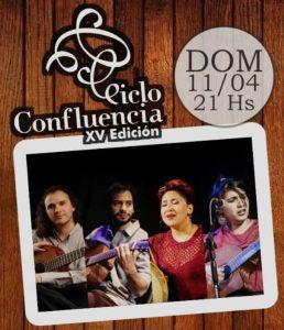 XV Edición del Ciclo Confluencia