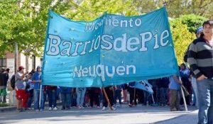 Barrios de Pie acampará hoy frente a Coto