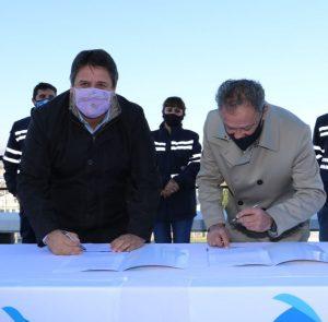 El municipio concretó la firma del contrato de concesión con Calf