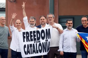 Libertad a indenpendentistas catalanes