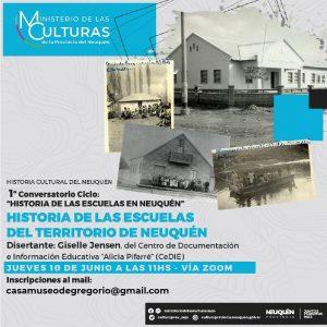 Conversatorio: Historia de las escuelas en Neuquén