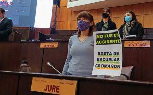 Jure: «Mónica estaba ahí por responsabilidad de la Ministra Storioni»