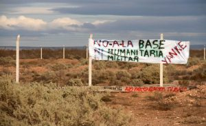 Legisladores piden informes sobre la actual situación de la base de EE.UU. en Neuquén