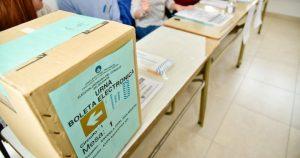 Elecciones en Neuquén capital: Por protocolo incrementan un 25% los lugares de votación