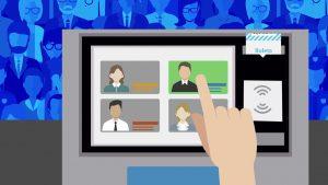 Elecciones a concejales:En la pantalla electrónica se verán las dos personas que encabezan la lista