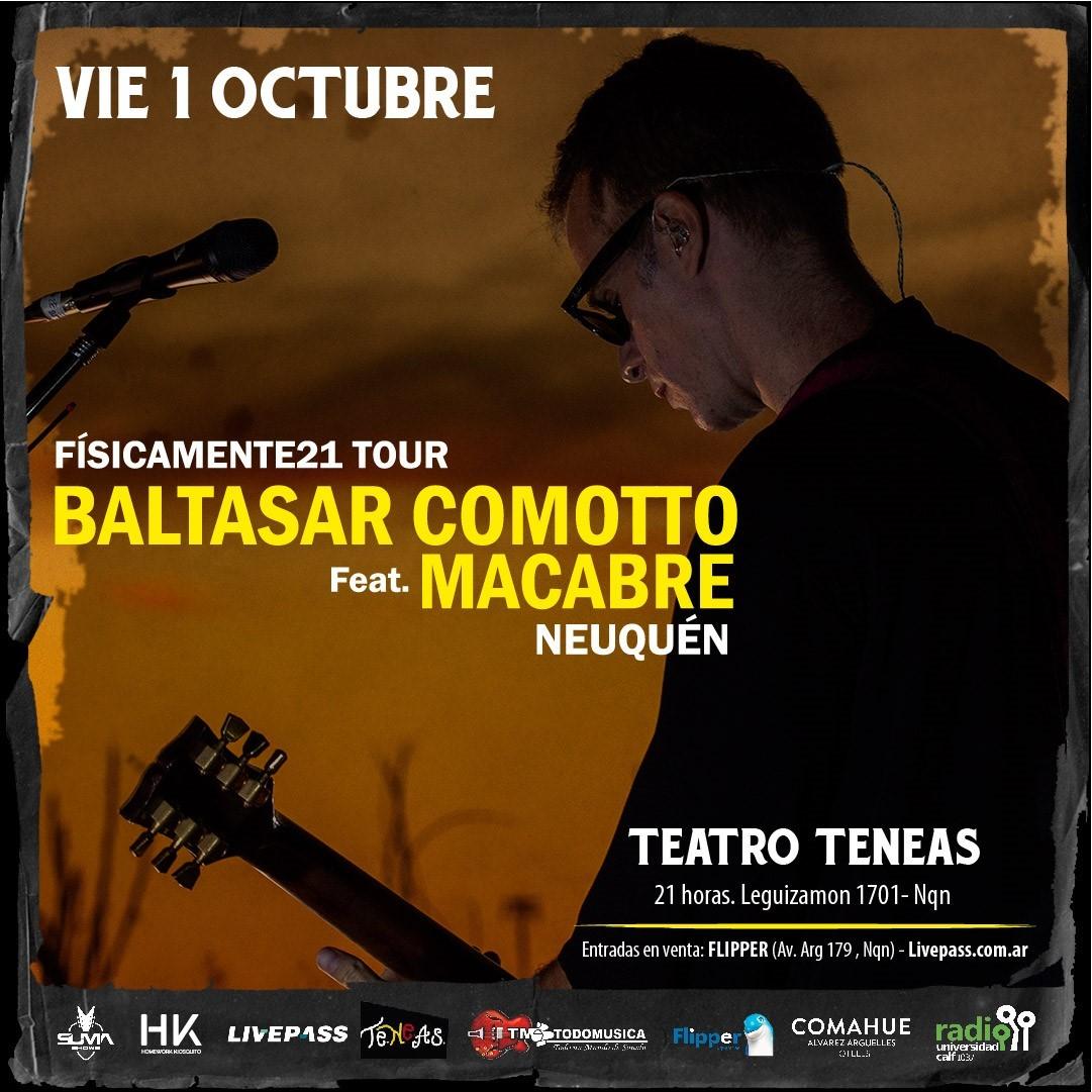 Baltasar Camotto Feat. Macabre en Neuquén