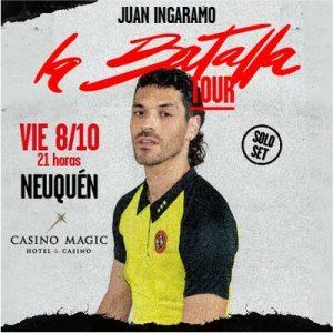 Juan Ingaramo en Neuquén