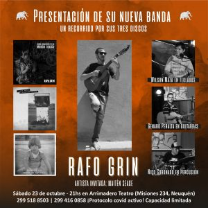 Rafo Grin presenta su nueva banda
